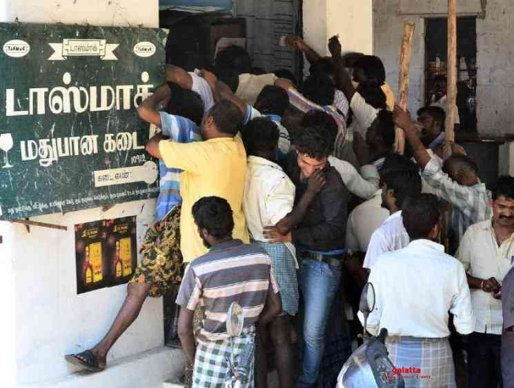 TASMAC shops in Chennai will not open on May 7 TN govt - Tamil Movie Cinema News