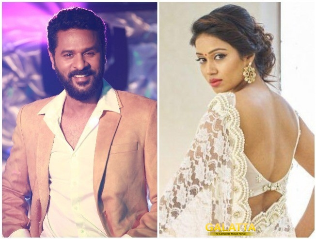 Prabhudeva Nivetha Pethuraj Starrer Prabhdeuva Wraps Up First Short Schedule