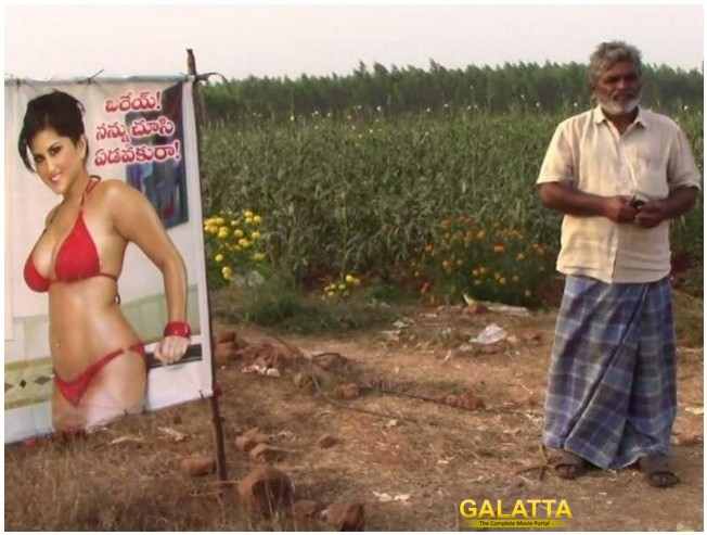 Andhra Pradesh Farmer Erects Poster To Ward Off Jealousy Of Fellow Villagers