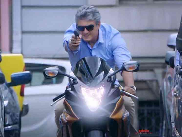 Thala Ajith injured in bike chase shoot for Valimai - Tamil Movie Cinema News