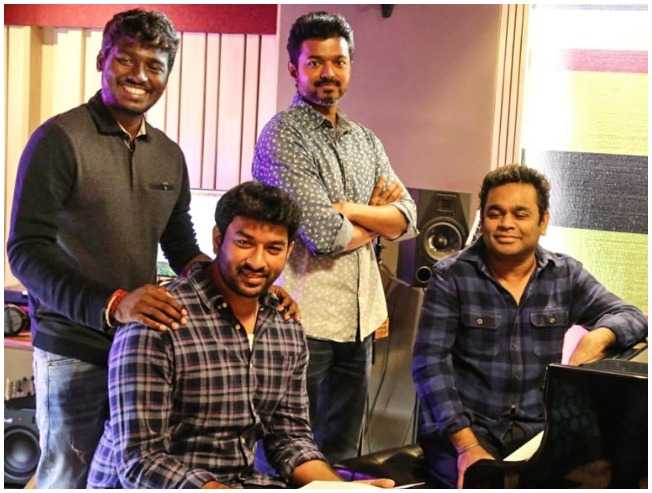 Popular actress trolls Bigil leaked song