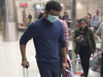 'Thalapathy' Vijay leaves Chennai - new viral video!
