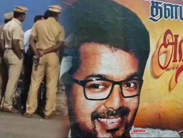 Illegal banner crackdown: Vijay fan arrested for not seeking permission