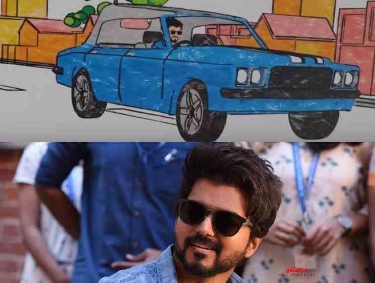 Thalapathy Vijay vintage classic car in Master revealed - Tamil Movie Cinema News