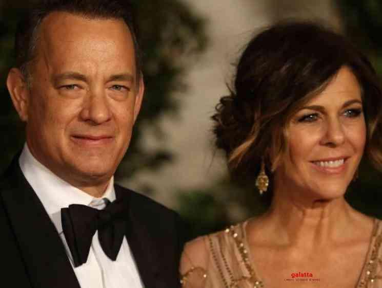 Tom Hanks wife Rita Wilson released coronavirus diagnosis - Tamil Movie Cinema News