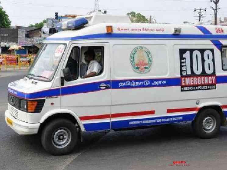 TN ambulance driver who drove to Tripura tests COVID positive - Tamil Movie Cinema News