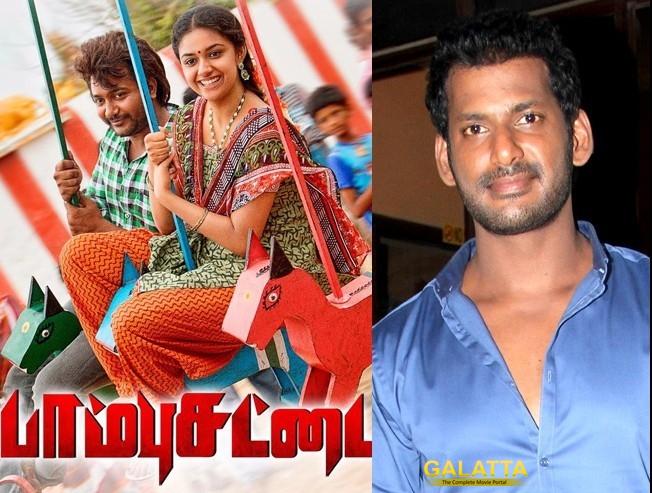 Vishal to release Paambhu Sattai teaser tomorrow!