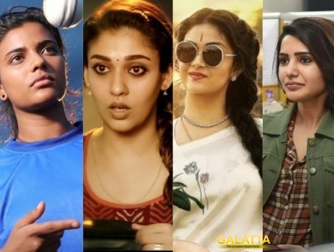 top 10 actress' of 2018 - Tamil Movie Cinema News