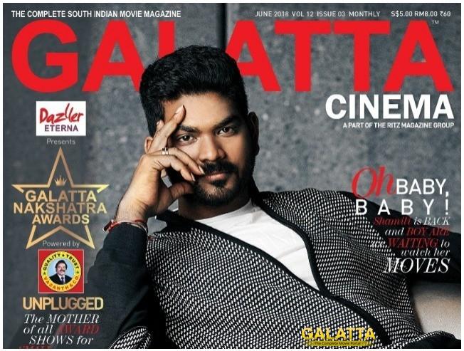 Director Vignesh Shivn Poses Cover Shoot Galatta Magazine