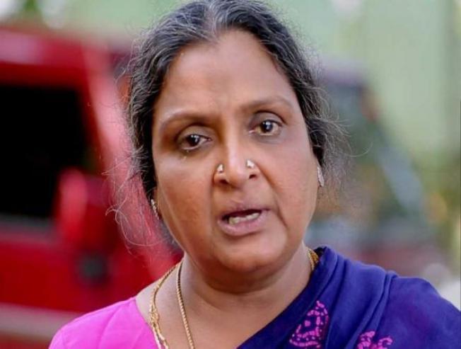 Shocking - Theft at veteran actress Vadivukkarasi's house1
