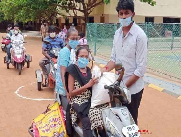 Velammal school donates for corona relief - Tamil Movie Cinema News