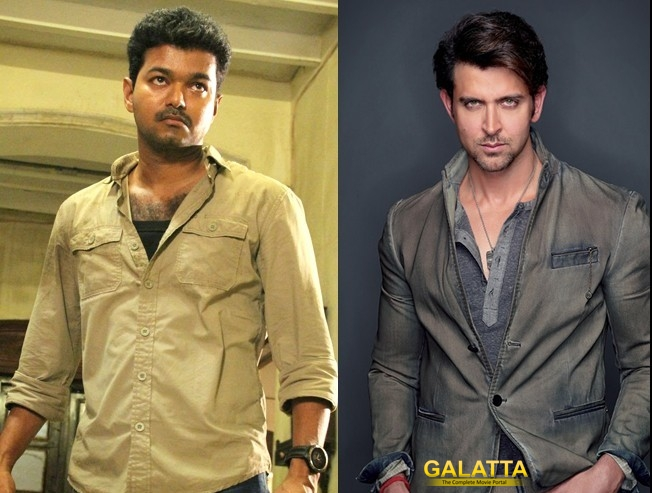 Hrithik Roshan, to reprise Vijay's role in Kaththi remake?