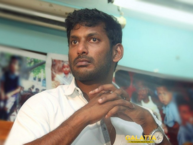 vishal statement on rknagar