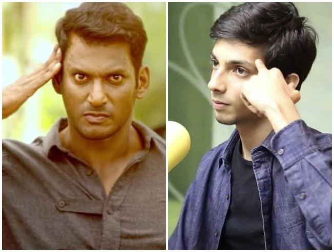 EXCLUSIVE: Anirudh joins Vishal's next film