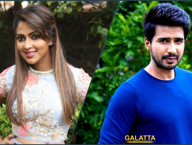 vishnu-amala paul starter goes on floor - Tamil Movie Cinema News