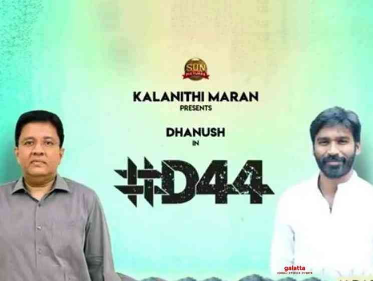 Dhanush D44 with Sun Pictures to be directed by Mithran Jawahar - Tamil Movie Cinema News