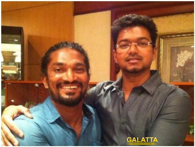 Vijay Visit To Stunt Silva For Brother In Law Selvaraj Death