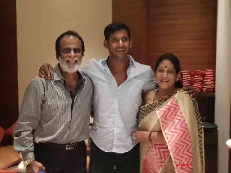 Vishal father COVID positive recovered after Ayurvedha Treatment - Telugu Movie Cinema News