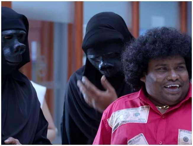 Yogi Babu comedy Gorilla Jiiva Shalini Pandey Sathish - Tamil Movie Cinema News