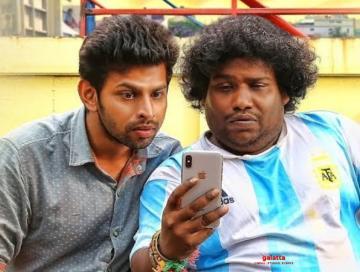 Yogi Babu comedy Puppy Tamil movie Varun Samyuktha Hegde