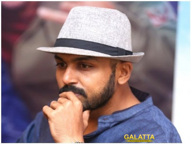 Karthi Denies Rumors Of Being Part Of Tamil-Telugu Bilingual Uirector Ravi Udugala