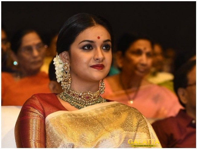 Keerthy Suresh Dispels Rumors Of Portraying Former Tamil Nadu Chief Minister J Jayalalithaa