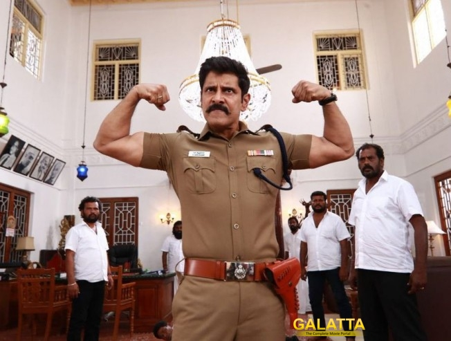 Vikram Starrer Saamy Square Trailer To Come Out On June 3