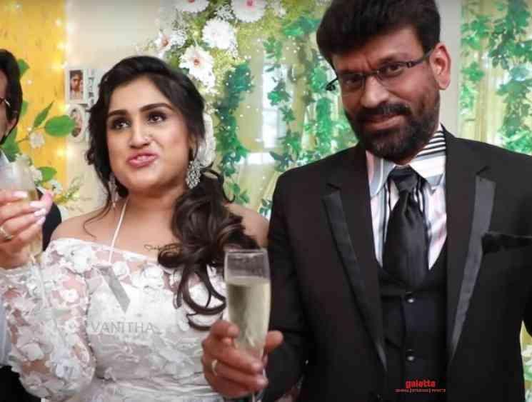 Vanitha Vijayakumar shares video to prove PeterPaul a teetotaller - Tamil Movie Cinema News