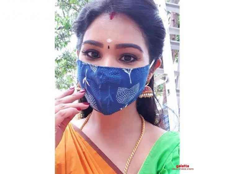 Actress Sharanya Turadi resumes shooting for Ayutha Ezhuthu - Tamil Movie Cinema News