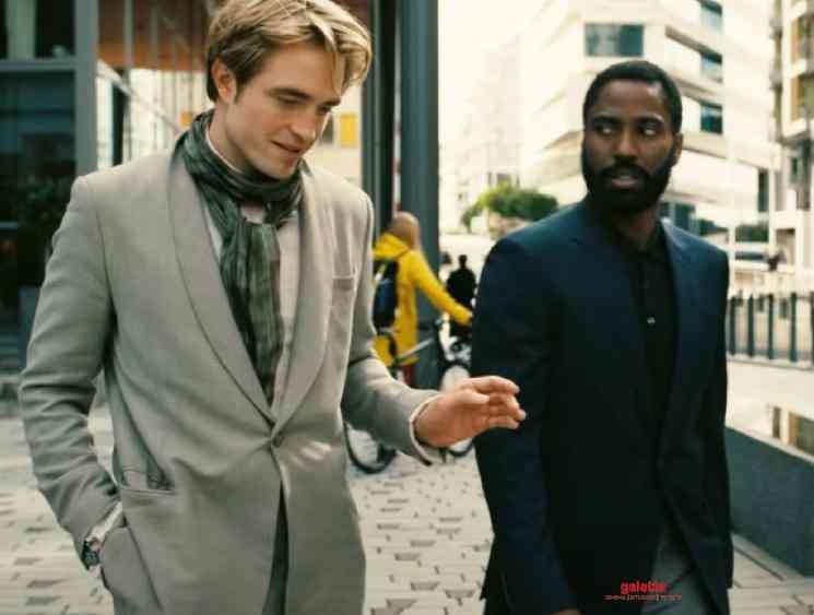 Christopher Nolan Tenet New Trailer released David Washington - Tamil Movie Cinema News