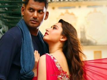Action Yetu Nadusthunna Video Vishal Tamannaah - Tamil Movie Cinema News