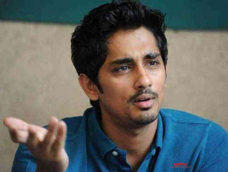 Siddharth gets angry over fan fights on social media - Tamil Movie Cinema News