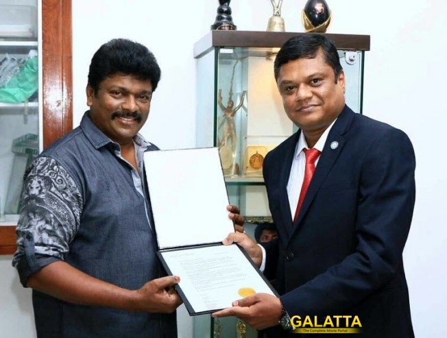Now, Parthiepan gets an international accolade