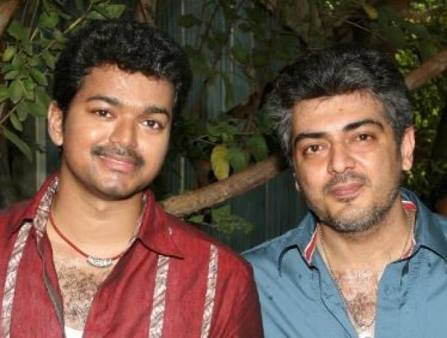 Vijay in Ghilli and Ajith in  Check out this fiery statement from