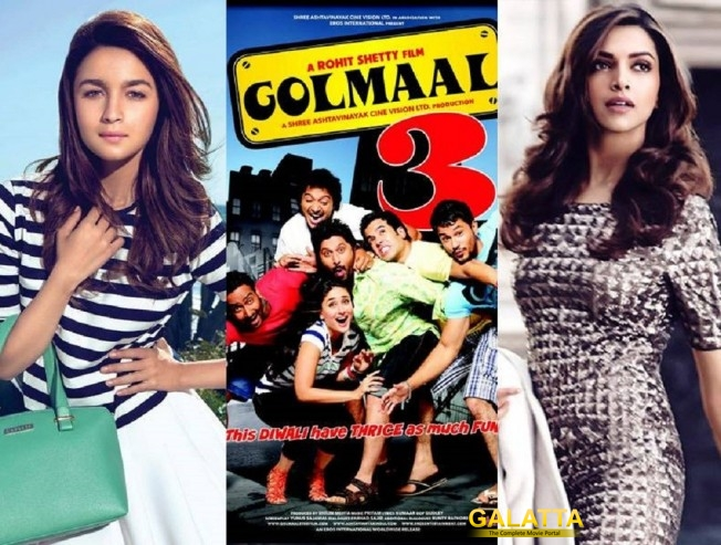 Alia or Deepika for Golmaal 4?