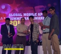 Anirudh honoured with award at Global Mobile App Summit & Awards!
