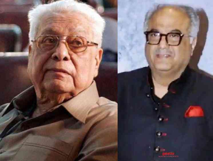 BoneyKapoor mourns the death of legendary director BasuChatterjee - Tamil Movie Cinema News