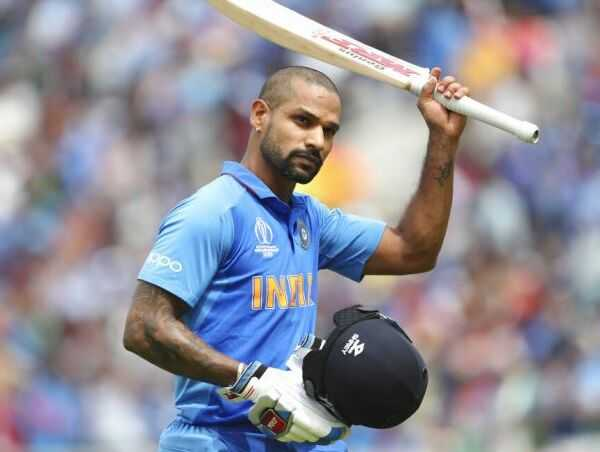 Shikhar Dhawan Injured during the match against Australia ruled out of World Cup 2019