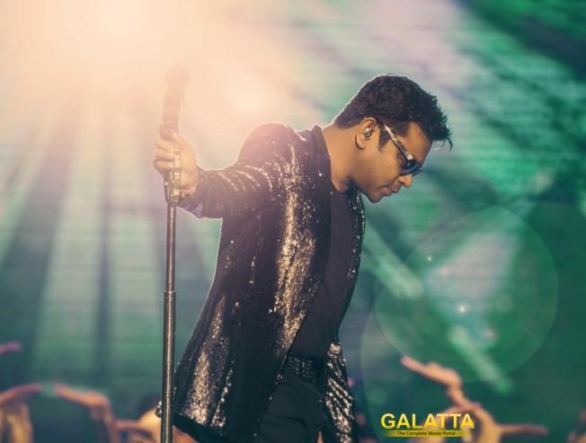 Tribute concert by A R Rahman honoring Tamil Nadu