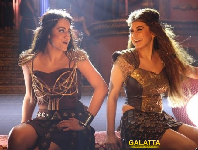 Hansika's daring performance in Aranmanai 2