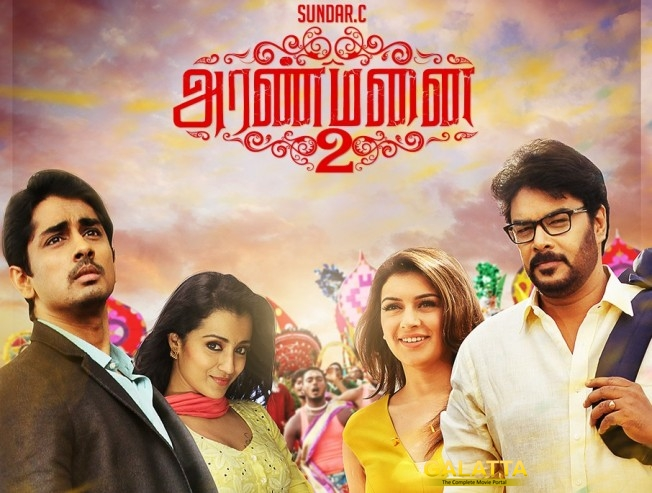 Aranmanai 2 gets a good start