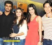 Tiger at the special screening of 2 States!