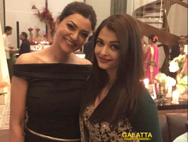 Perfect Click: Beauty Queens Aishwarya Rai and Sushmita Sen