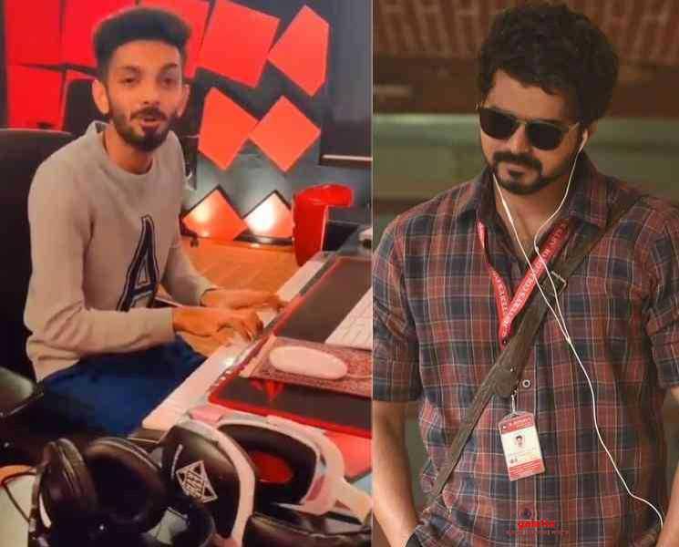குட்டி கதை அனிருத் வெர்ஷன் ! எப்படி இருக்குனு பாருங்க...- Latest Tamil Cinema News