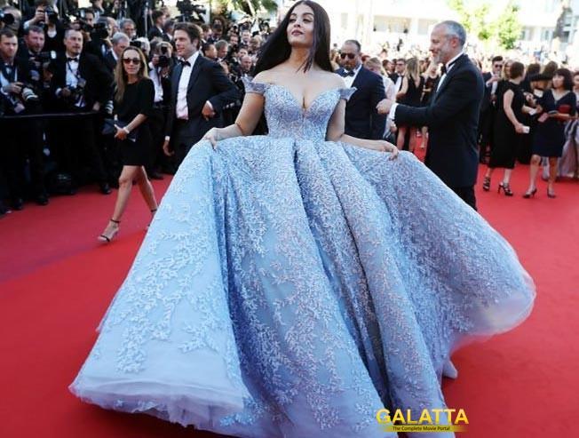 Aishwarya Rai Dazzles Cannes 2017