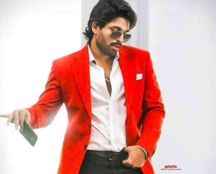அல்லு அர்ஜுன் படத்தின் ஷூட்டிங் குறித்த தகவல் !- Tamil Movies News
