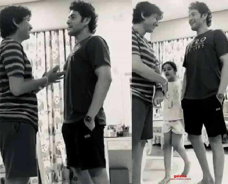 வளர்ந்துட்டான்...மகனுடன் வீடியோ வெளியிட்ட மகேஷ் பாபு !- Tamil Movies News