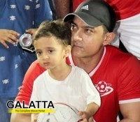 Aamir, Bollywood's doting father