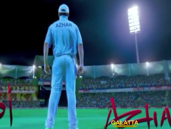 Azhar's trailer is out!