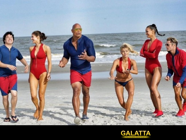 Priyanka missing from Baywatch first look!
